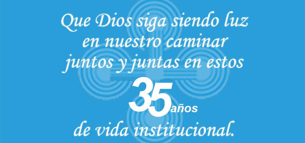 ¡Cumplimos 35 años de vida institucional!